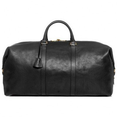 Classic Mulberry Small Clipper Holdalls Black With Free Shipping