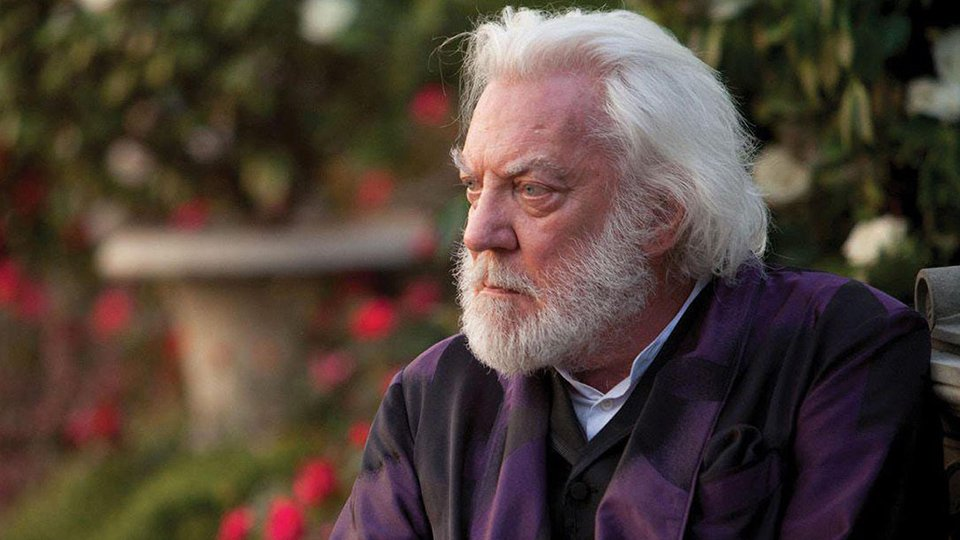Donald Sutherland Explains An Eerie Message About 'The Hunger Games'