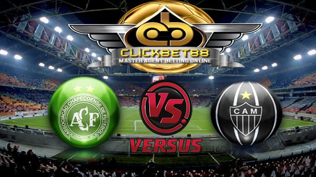 Prediksi Chapecoense VS Atletico Mineiro 26 Juni 2017 - Prediksi pertandingan