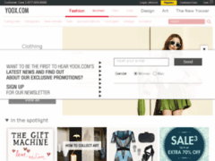 Yoox.com : Vente en ligne d' habillement de Marque