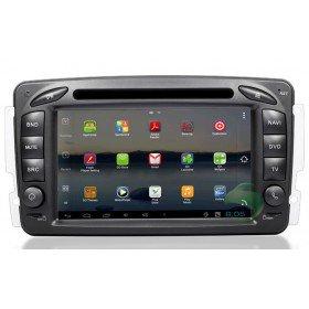 Android 4.0 Auto DVD Player GPS Navigationssystem für Mercedes-Benz G Klasse W467(2001.2 2002 2003 2004 2005 2006 2007 2008 2009 2010.2)