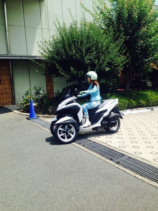 Twitter / Oshima__Yuko : 本当に私だからね(OvO) TRICITY乗りやすい  #ナ ...