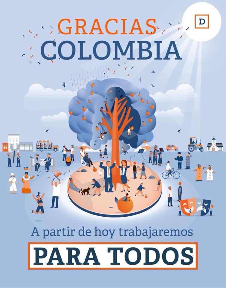 Colombie: Iván Duque Márquez remporte la présidentielle