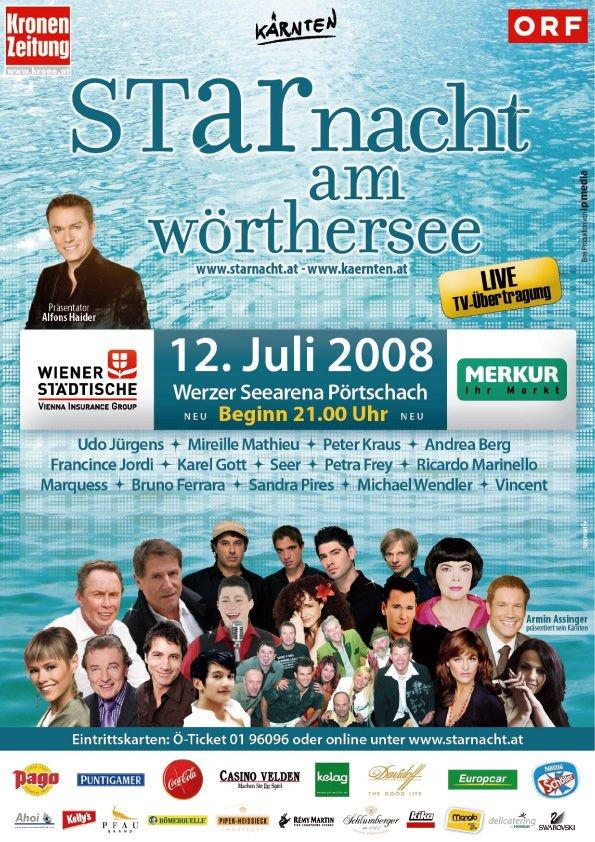 Starnacht am Wörthersee - 12.07.2008 - Wörthersee