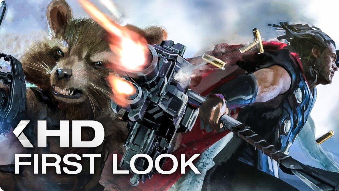 AVENGERS: Infinity War First Look (2018)