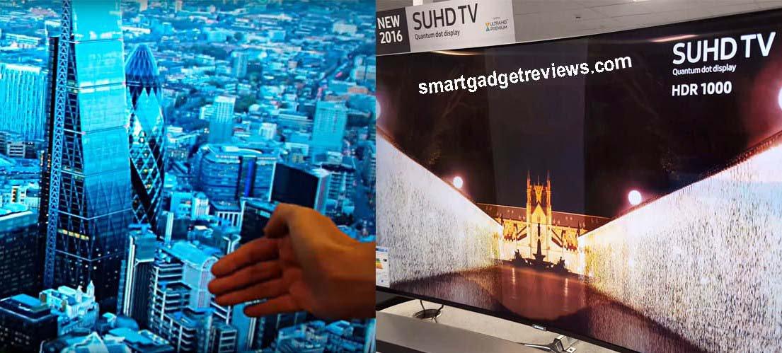 Compare 4K SUHD vs UHD Televisions 3840 x 2160p Quantum dot Quadcore