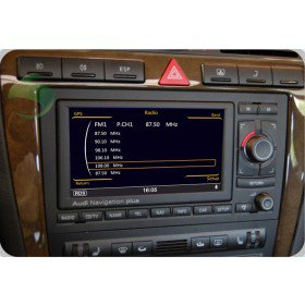 Auto DVD Player GPS Navigationssystem für Audi A8(1994 1995 1996 1997 1998 1999 2000 2001 2002 2003)