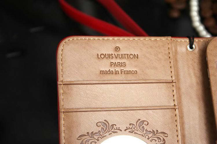 coque/ étui en cuir vernis Louis Vuitton pour iphone6/ 6plus/5/5S/5C, samsung galaxy s5,note4/3 avec strass