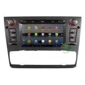 Android 4.0 Auto DVD Player GPS Navigationssystem für BMW E90 3 Series(2005 2006 2007 2008 2009 2010 2011 2012) Saloon (automatische Klimaanlage+beizbarer Sitz)