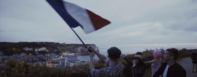 Un clip en hommage à la France