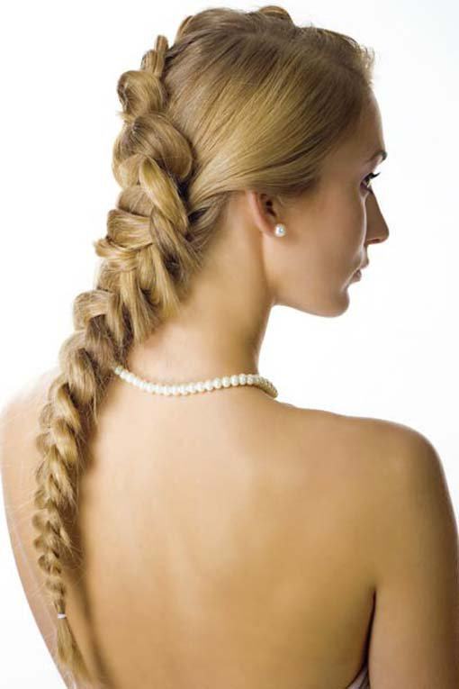 wedding hair:wedding braid | the new fashion 2013 and trends