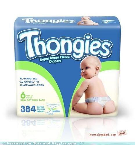 Les Thongies, le string pour bébé - Le Baby Blog - Doctissimo
