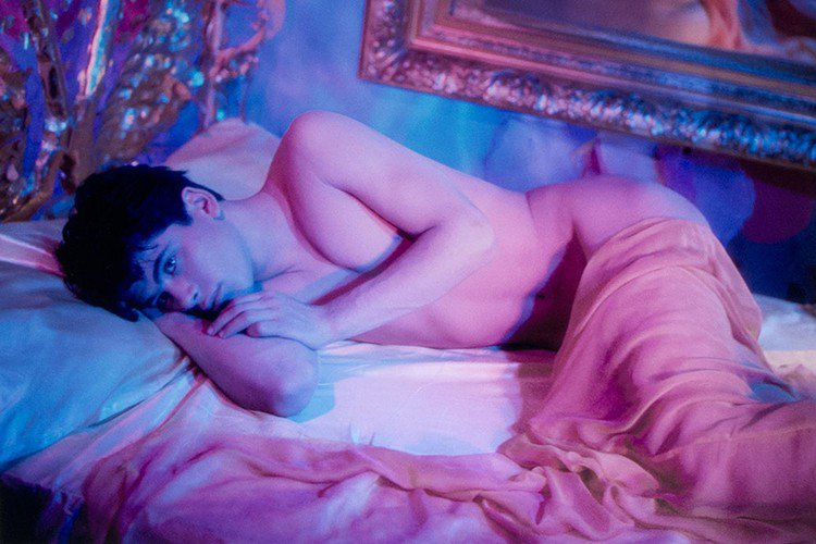 "Exposition ""James Bidgood"", du 6 janvier au 4 mars 2017, à la galerie Mathias Coullaud"