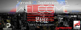 Achat de place, mon billet pour TEENS PARTY TOULOUSE - WELCOME TO U.S.A au VIDEO CLUB