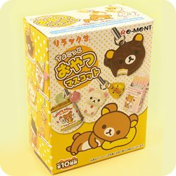 Buy Re-Ment Rilakkuma Snacks Mascot Charm at Tofu Cute