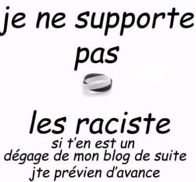 Stop au racisme ptn!