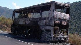 Un car prend feu accidentellement sur la RN 197 en Haute Corse - France 3 Corse ViaStella