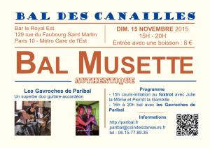 Bal des Canailles - Paribal