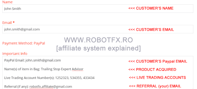 Make money advertising RobotFX products