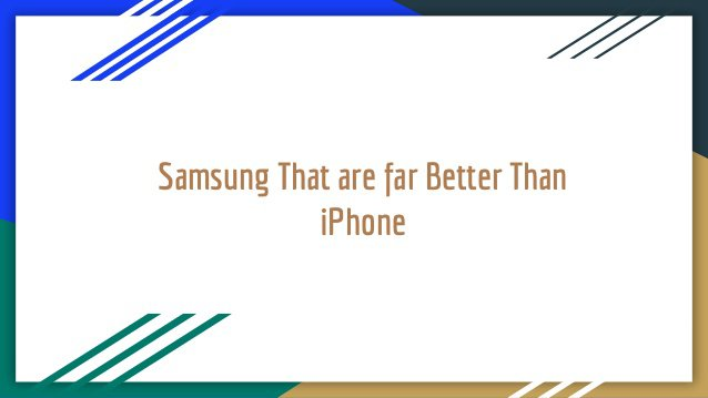 Samsung and iPhone have been rivals in the Smartphone industry for quite a long time now.The Samsung Galaxy S8 is best Android phone available in the market. t…