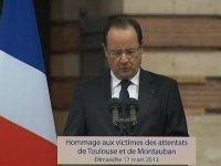 """François Hollande :""""la démocratie plus forte que le fanatisme"""""""