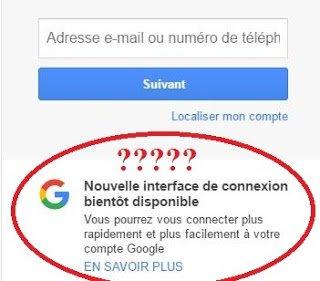 bientôt une Nouvelle interface de connexion disponible GMAIL ~ IT-NEWS