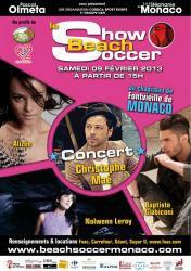 Show beach soccer 2013 - (Association Pascal Olmeta) UN SOURIRE, UN ESPOIR POUR LA VIE