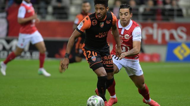 2017 Ligue 2  J23 REIMS LORIENT 0-1, le 29/01/2018