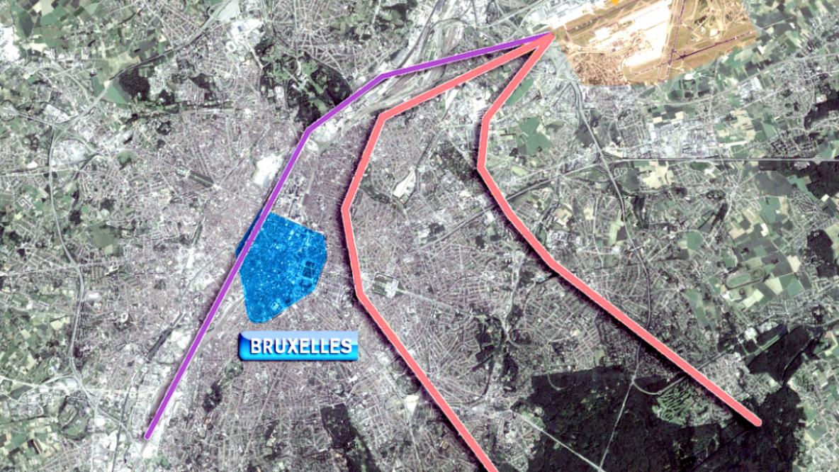 Le tribunal de Première Instance de Bruxelles a ordonné la cessation de la route du canal et du virage à gauche dans les trois mois, sous peine d'astreinte de 50 000 euros par jour.