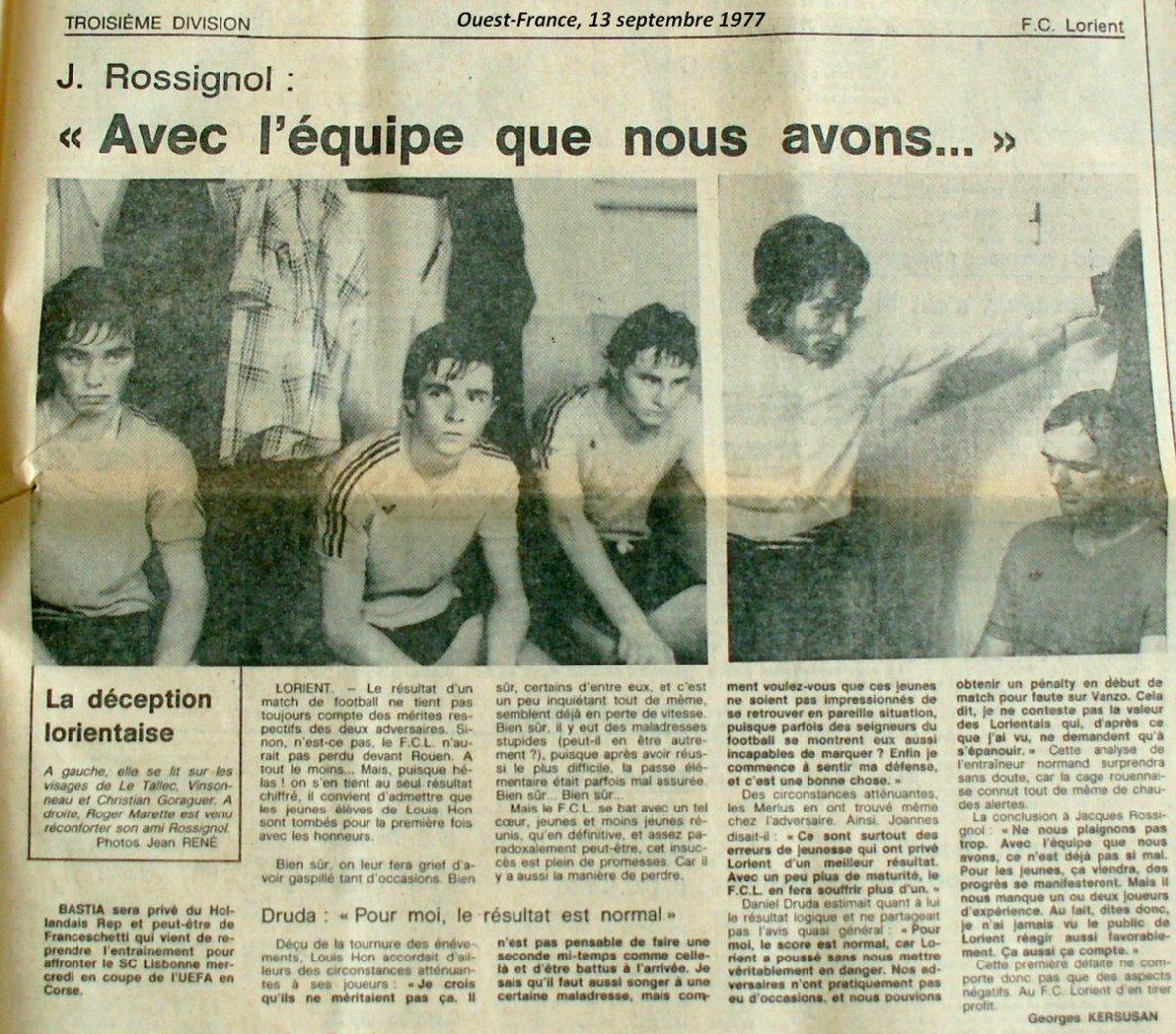 1977 en 3 ème division