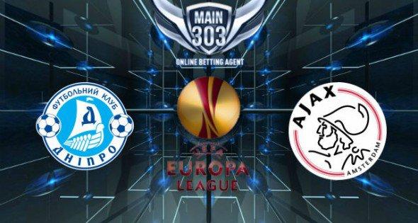 Prediksi Dnipro Dnipropetrovsk vs Ajax 13 Maret 2015 UEFA Eu