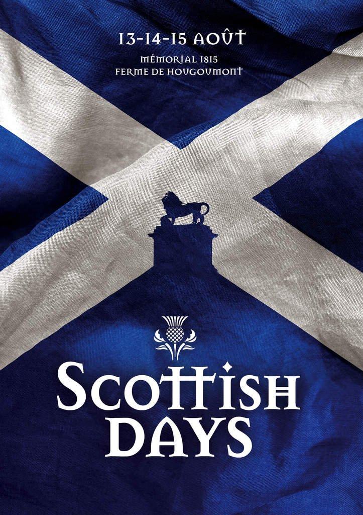 Highland Games.. tous les motifs sont bons pour venir aux SCOTTISH DAYS samedi, dimanche ou lundi à la Ferme de Hougoumont (Memorial 1815)