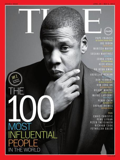 JAY-Z covers TIME Magazine's 100 Most Influenti...