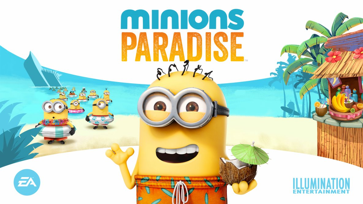 EA teams up with Universal and Illumination for Minions Paradise