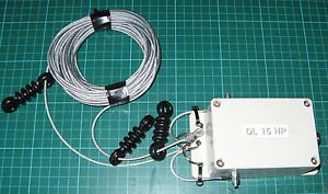 MCR COMMUNICATIONS DELTA 15 HP Multi Band Full Wave Loop Ham Radio Antenna