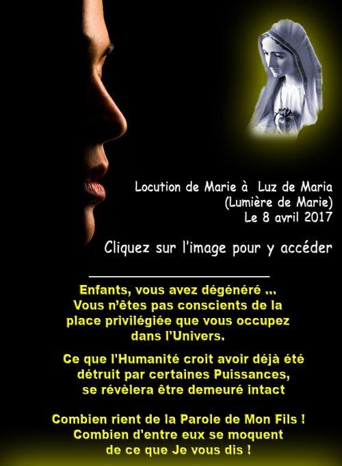 Luz de Maria : Chacun sera examiné, même le plus juste