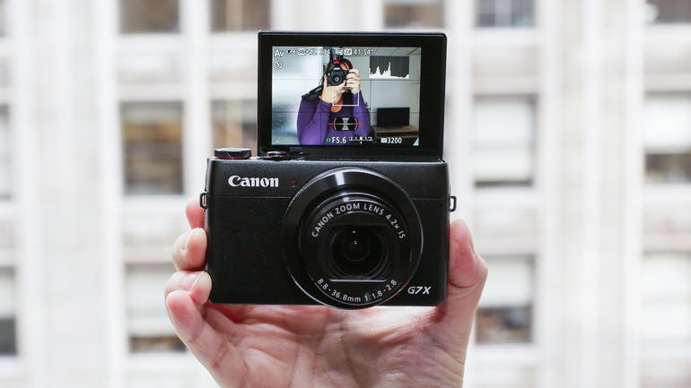 2015 best new camera for selfie canon powershot g7x for New camera 2015
