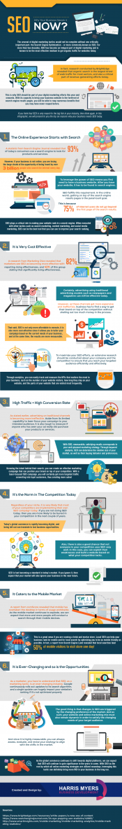 just free learn : SEO Why Your Business Needs it NOW? Infographic