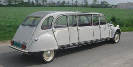 Citroen-2CV-Limousine. nol | La 2 CV dans tous ses états | Citroen car, Vintage Cars, Weird cars