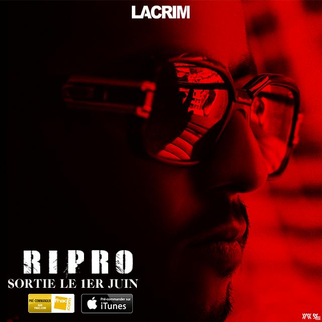 Lacrim dévoile un nouvel extrait de RIPRO: «Sablier».