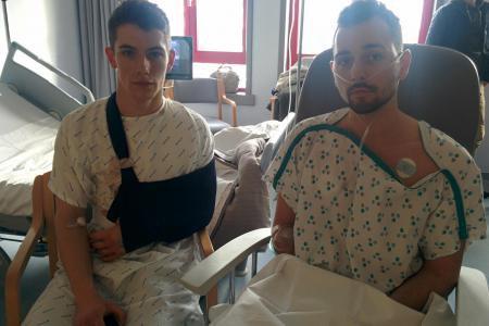 Jordan et Maël poignardés par un couple en pleine rue à 3h du matin à Mons: Ils parlaient très fort. On leur a jeté un coup d'œil (photos)