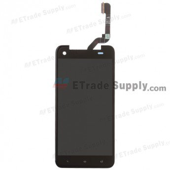 HTC J Butterfly LCD Screen and Digitizer Assembly - Black