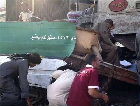 Égypte. Mort de 47 enfants dans une collision à un passage à niveau - Faits divers - ouest-france.fr