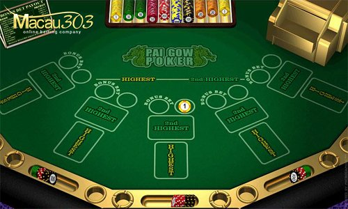 Situs Bandar Taruhan Poker Pai Gow Online Indonesia Uang Asli