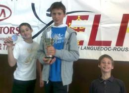 Escrime : 2KPDP, champions de Ligue à Béziers