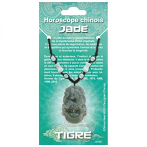 horoscope Chinois Jade - Magie des Bijoux -Pierre minérale
