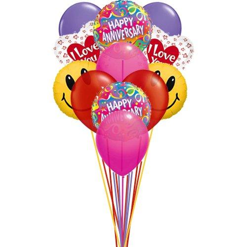 Buy Helium Balloons Arrangemernt On Wedding or Anniversary Occasion