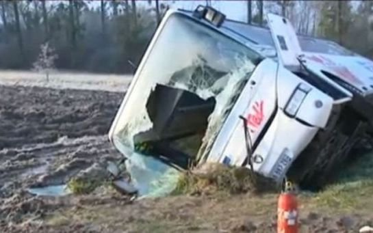 VIDEO. Meurthe-et-Moselle : 17 blessés dans un accident de car scolaire