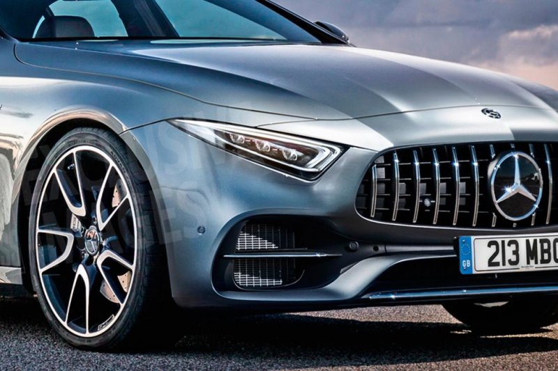 The 2018 Mercedes-Benz CLS- Leaked pictures