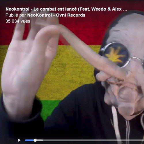 Neokontrol - Le combat est lancé (Feat Weedo & Alex RLB) 190BPM #RaggaHitech